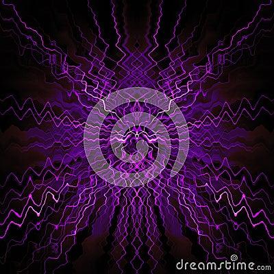 Symmetrical abstract design