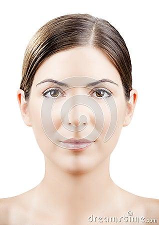 Symmetrical face