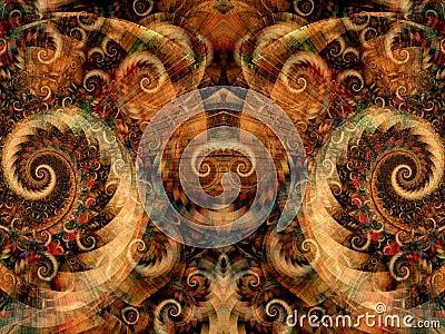 Symmetrical Fantasy Texture