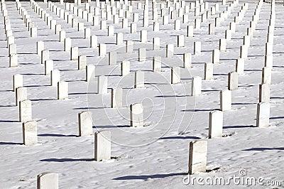 Symmetrical graves