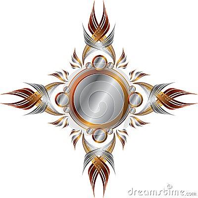 Symmetrical Metallic Frame