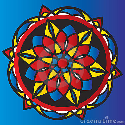 Symmetrical pattern