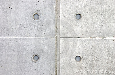 Symmetrical pattern on concrete tiles close up