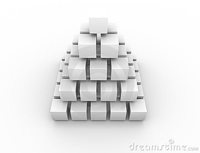 Symmetrical pyramid