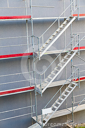 Free Symmetrical Scaffolding Construction Stock Photo - 24338670