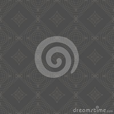 Symmetrical seamless vector background pattern.
