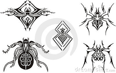 Symmetrical Spider Designs
