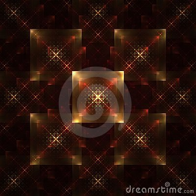 Symmetrical Tile Abstract