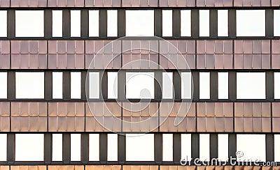 Symmetrical wall