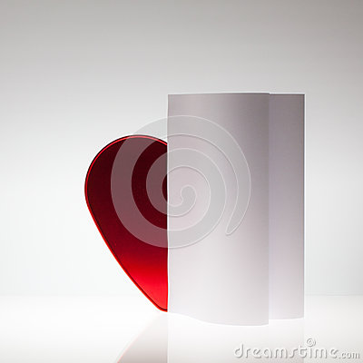 Symmetry abstract Paper Background with heart
