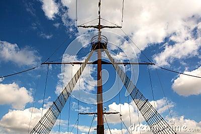 Symmetry main mast