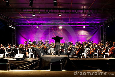 Symphonic Orchestra Editorial Image