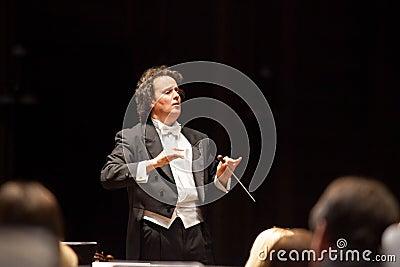 Conductor Hobart Earl Editorial Stock Photo