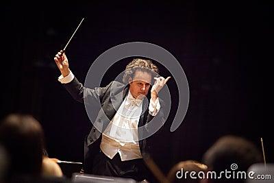 Conductor Hobart Earl Editorial Image