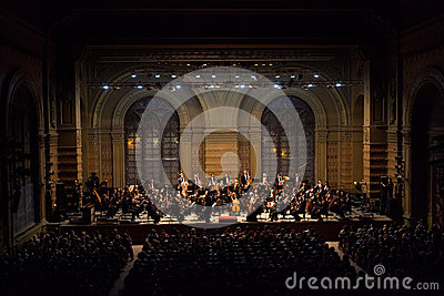 Symphony Orchestra Editorial Image