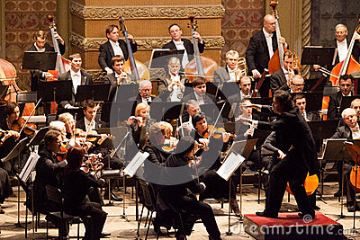 Symphony Orchestra Editorial Photography