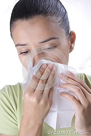 Symptom of sickness