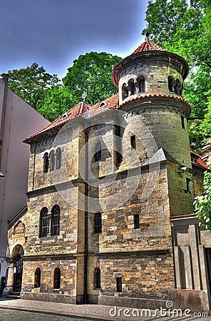 Synagoge in Prag HDR