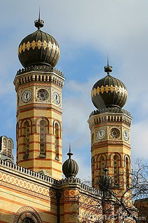 Free Synagogue Budapest Royalty Free Stock Photo - 649045
