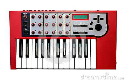 Synthesizer Stock Photo - Image: 26159610