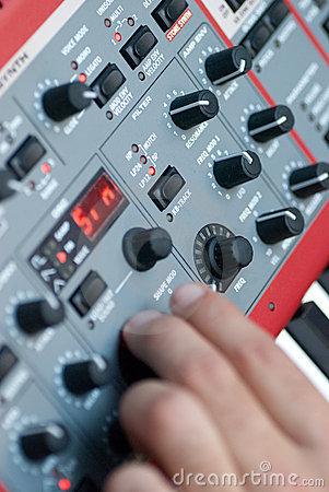 Synthesizer Buttons