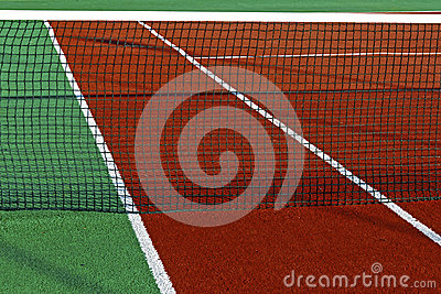 Synthetic sports field for tennis 5