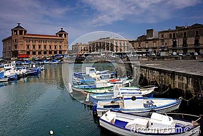 Syracuse harbor