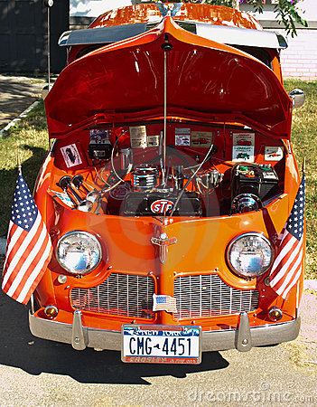 Syracuse nationals, crosley front view Editorial Photo