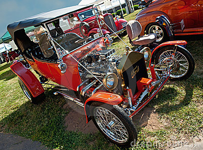 Syracuse nationals, model t ford Editorial Image