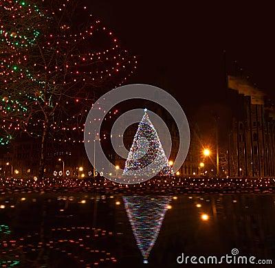 syracuse,ny at christmastime