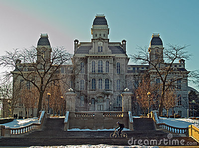 Syracuse university hall of languages