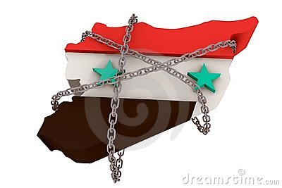 Syria held down by dictatorship chains