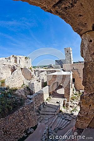 Syria - Saladin Castle (Qala at Salah ad Din)