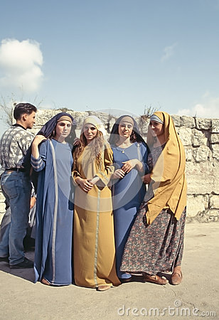 Syrian women Editorial Photo
