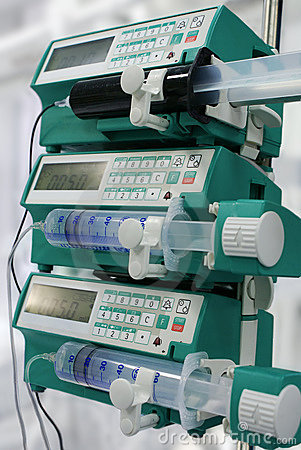 Syringe pumps