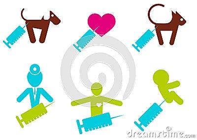 Syringe themed icons