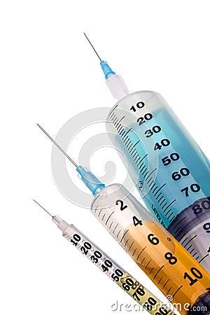 Free Syringes Stock Image - 7308861
