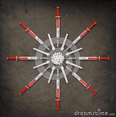 Syringes & Pills
