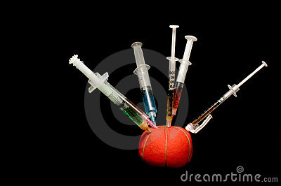 Syringes in a pin cushion