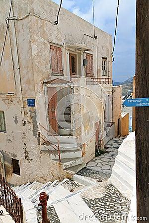 Syros island in Greece