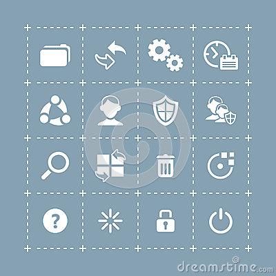 System icons   TECH series