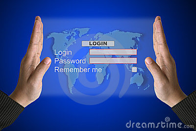System Login interface