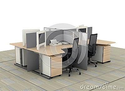 System office desks