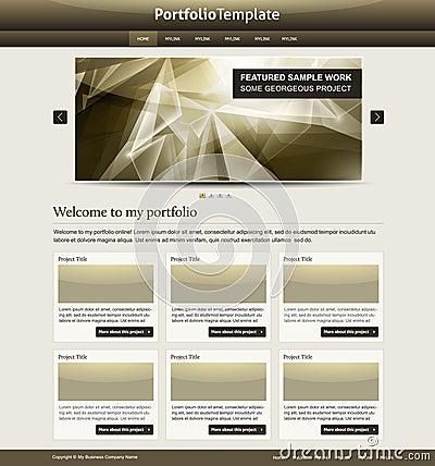 Szablon elegancka strona internetowa