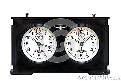 Szachy stary zegarowy