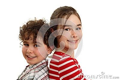Szczęśliwy ja target596_0_ dzieciaków