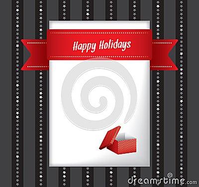 Szczęśliwy wakacje kartka z pozdrowieniami
