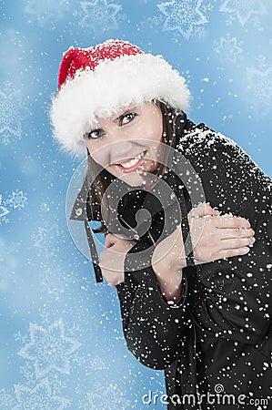 Szczęście w śniegu