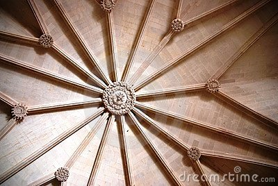 Szczegółu dos jeronimos Lisbon mosteiro