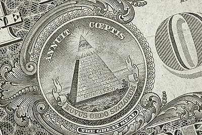Szczegółu dolara ostrosłup